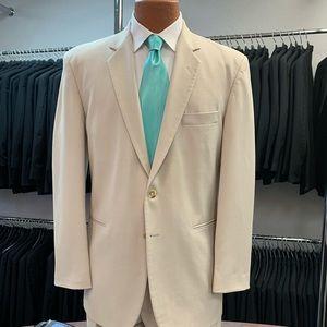 Retro After Six Tan Suit Jacket